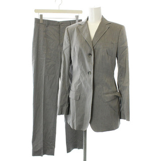 ドルチェアンドガッバーナ(DOLCE&GABBANA)のドルチェ&ガッバーナ ドルガバ スーツ セットアップ テーラード 40 グレー(スーツ)