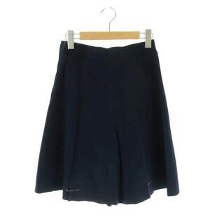 クリスチャンディオール(Christian Dior)のクリスチャンディオール キュロット ショートパンツ M 紺 ネイビー(キュロット)