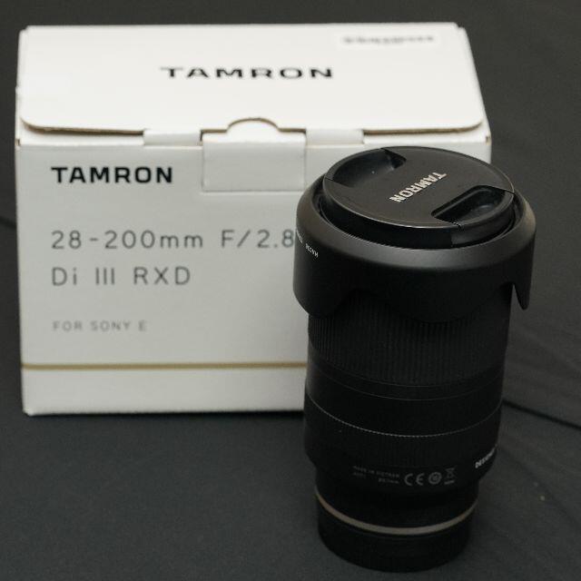 TAMRON 28-200mm F2.8-5.6 Model A071 スマホ/家電/カメラのカメラ(レンズ(ズーム))の商品写真