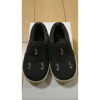 ポロラルフローレン(POLO RALPH LAUREN)のPOLORalphLauren♡ベビー キッズ靴(スリッポン)