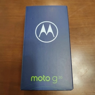 Motorola - モトローラ moto g30 イヤバッズ付 SIMフリースマートフォン