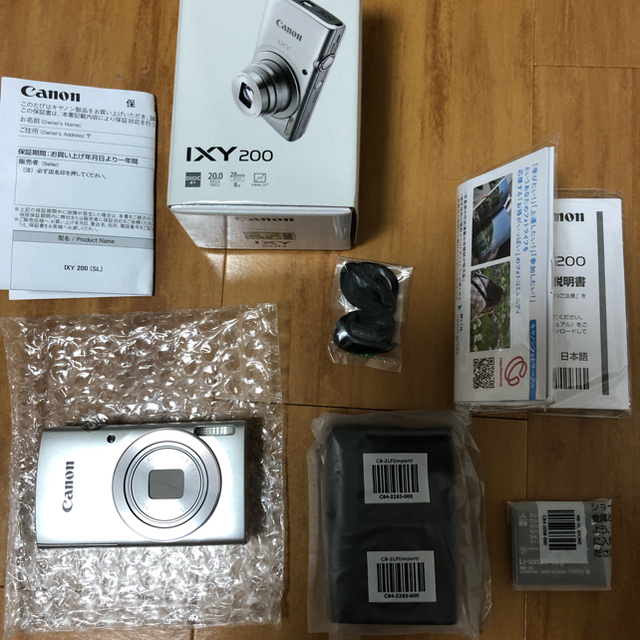 Canon(キヤノン)のcanon IXY 200 (SL) スマホ/家電/カメラのカメラ(コンパクトデジタルカメラ)の商品写真