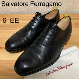 サルヴァトーレフェラガモ(Salvatore Ferragamo)の美品 イタリア製 Salvatore Ferragamo ストレートチップ 6(ドレス/ビジネス)