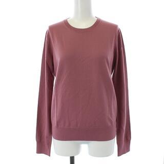 セオリー(theory)のセオリー 20AW ニット セーター 長袖 薄手 ウール S 紫 パープル(ニット/セーター)
