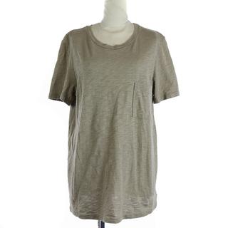 セオリー(theory)のセオリー 20SS Tシャツ 半袖 S 茶色(Tシャツ(半袖/袖なし))