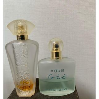 ジョルジオアルマーニ(Giorgio Armani)のアルマーニとジバンシィの香水セット(香水(女性用))