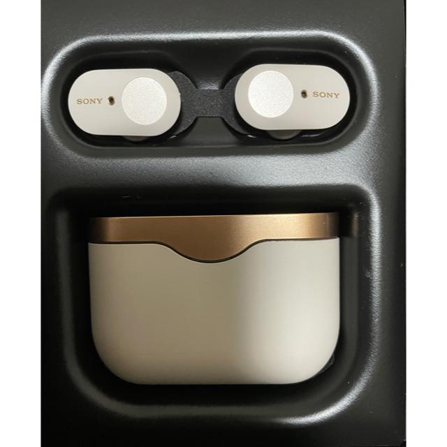 SONY(ソニー)のSONY WF-1000XM3 ノイズキャンセル イヤフォン スマホ/家電/カメラのオーディオ機器(ヘッドフォン/イヤフォン)の商品写真