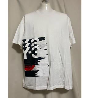 定価22000円 Y-3 Tシャツ カットソー L ホワイト 白 ヨウジヤマモト