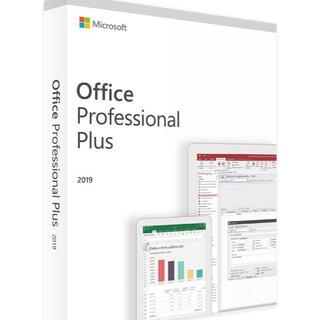 マイクロソフト(Microsoft)のMicrosoft Office2019 Professional plus(その他)