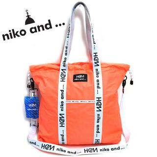 ニコアンド(niko and...)の新品 niko and ... × HeM ナイロン トートバッグ  ニコアンド(トートバッグ)