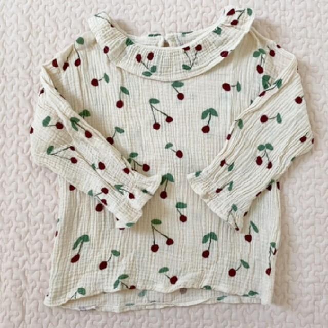 petit main(プティマイン)のゆ様専用2枚セット キッズ/ベビー/マタニティのキッズ服女の子用(90cm~)(Tシャツ/カットソー)の商品写真