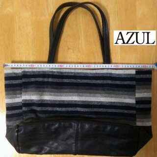AZUL by moussy - ★リバーシブル トート AZUL トートバッグ