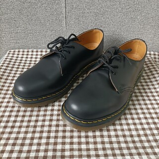 Dr.Martens - 黒❥男女兼用 シューズ❥Dr. Martens  3ホール 靴