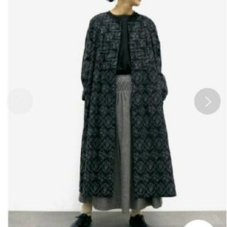 SM2 - TSUHARU by SM2サマンサモスモス総刺繍タイル柄ワンピース新品ブラック