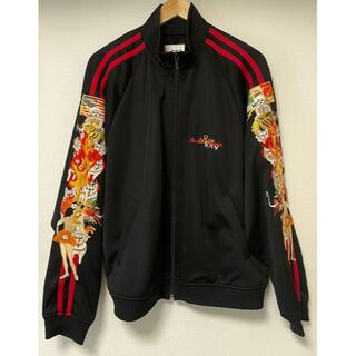 Size L DOUBLET CHAOS EMBROIDERY TRACK JA