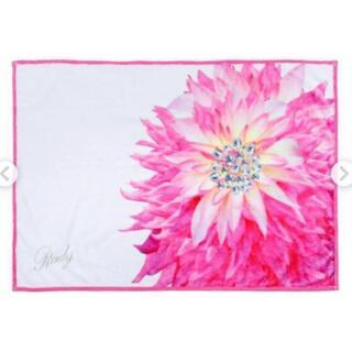 レディー(Rady)の新品 rady ビジューフラワー ブランケット 毛布 タオルケット ピンク 花柄(毛布)