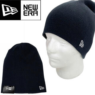 ニューエラー(NEW ERA)のニューエラ ビーニー 帽子 ハット ニット帽 12490079 ネイビー(ニット帽/ビーニー)