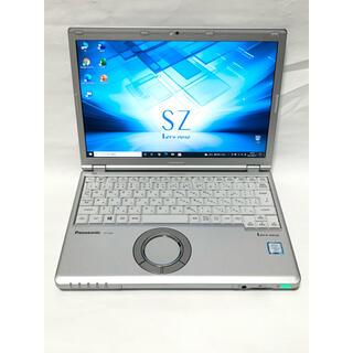 Panasonic - ノートPC レッツノート CF SZ6 i5 8GBメモリ SSD Office
