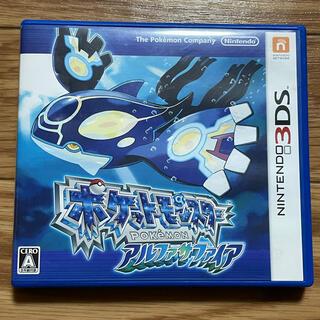 ニンテンドウ(任天堂)の【取引済み】ポケットモンスター アルファサファイア 3DS(携帯用ゲームソフト)