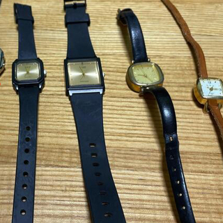 カシオ(CASIO)の腕時計 稼働品とジャンクセット(腕時計)