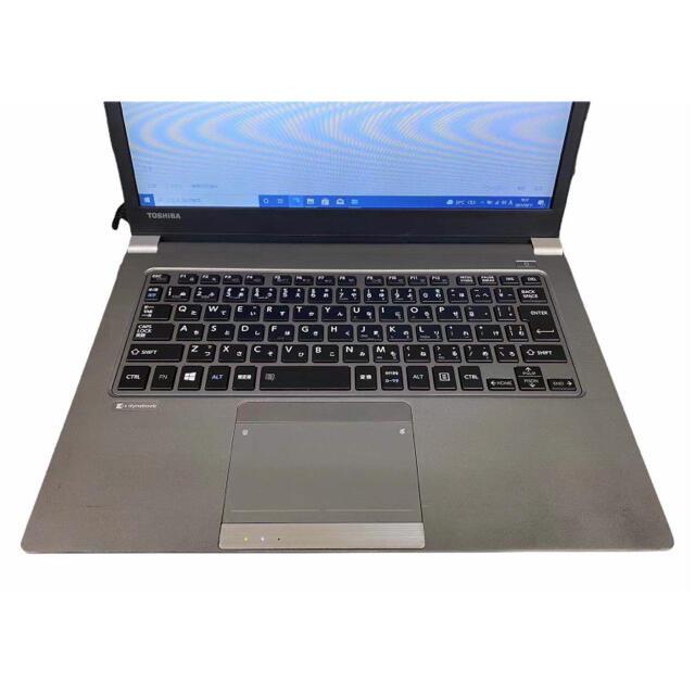 東芝(トウシバ)の東芝軽量ノートパソコン SSD搭載 スマホ/家電/カメラのPC/タブレット(ノートPC)の商品写真