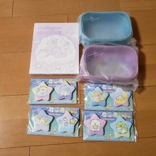サンエックス - すみっコくじ part24 アクリルフォトフレーム ポーチ 缶バッジ
