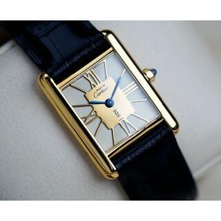 Cartier - 美品 カルティエ マスト タンク ゴールドローマン SM Cartier