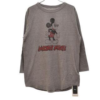 フレームワーク(FRAMeWORK)のframework 21aw ヴィンテージラグラン ミッキー 七分袖Tシャツ(Tシャツ(長袖/七分))