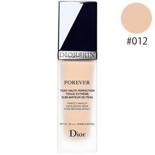 Christian Dior - 新品・未使用✨ディオールスキン フォーエヴァー フルイド #012