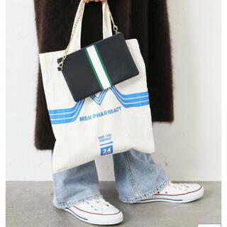 DEUXIEME CLASSE - Deuxieme Classe☆CELERI NAVY LINE BAG