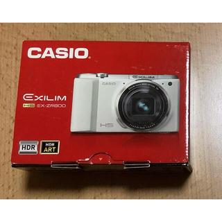 CASIO デジタルカメラ EXILIM EXZR800BK 1610万画素