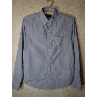 ギャップ(GAP)のo3717 GAP ギャップ 長袖 ストライプ デザイン ボタンダウン シャツ(シャツ)