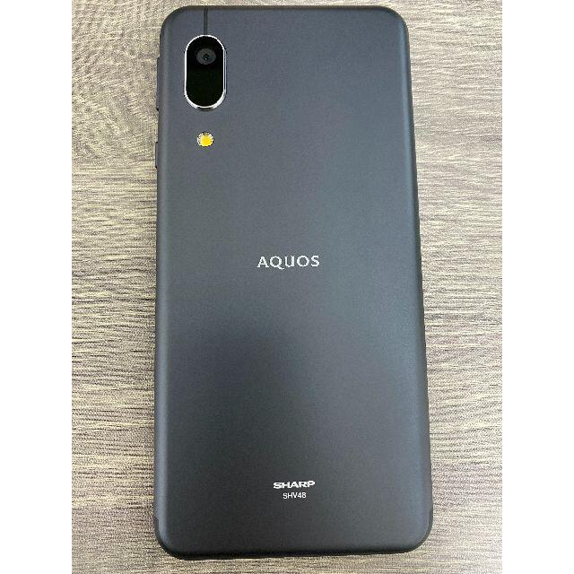 SHARP(シャープ)のAQUOS Sense3 Basic SIMフリー ブラック スマホ/家電/カメラのスマートフォン/携帯電話(スマートフォン本体)の商品写真