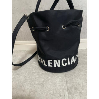 Balenciaga - BALENCIAGA WHEEL ドローストリング バケットバッグ