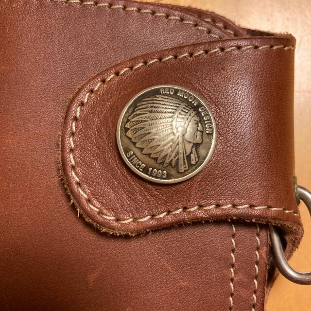 REDMOON(レッドムーン)のレッドムーン レザー ウォレット 財布 長財布 メンズのファッション小物(長財布)の商品写真