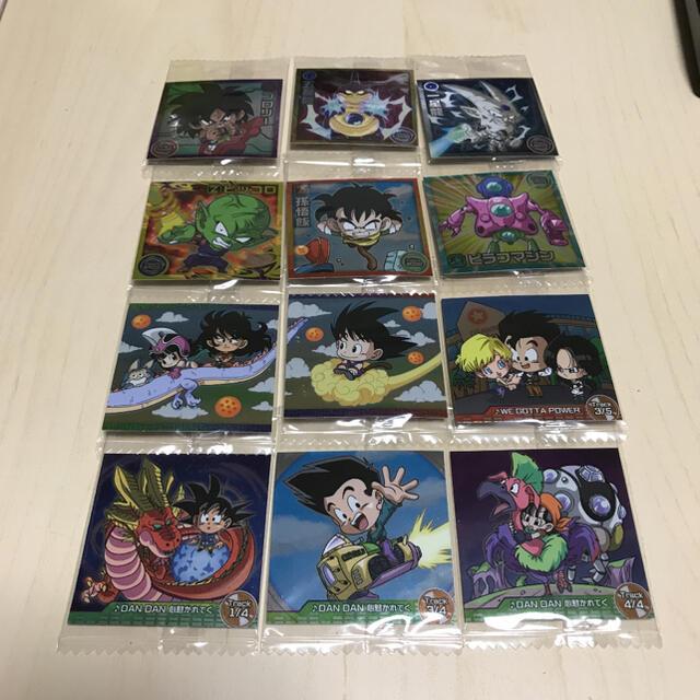 ドラゴンボール(ドラゴンボール)のドラゴンボール ウエハースシール エンタメ/ホビーのおもちゃ/ぬいぐるみ(キャラクターグッズ)の商品写真