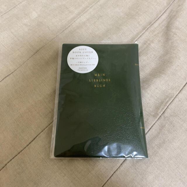 HIGHTIDE ブックカバー ハンドメイドの文具/ステーショナリー(ブックカバー)の商品写真