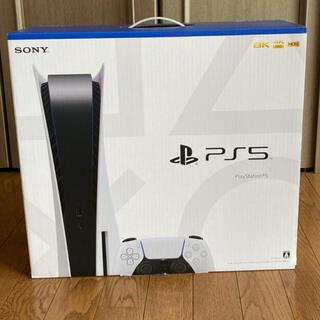 プレイステーション(PlayStation)のPS5 ディスクドライブ搭載モデル 新品未開封(家庭用ゲーム機本体)
