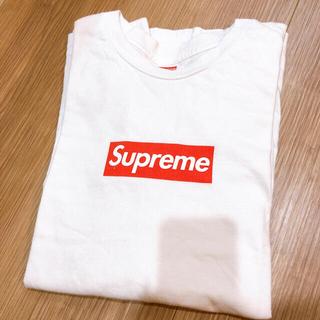 Supreme - supreme ボックスロゴ ロンT