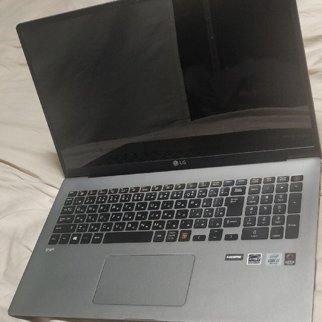 LG Electronics(エルジーエレクトロニクス)のLG gram 17インチ 17Z90N-VA72J Corei7ノートパソコン スマホ/家電/カメラのPC/タブレット(ノートPC)の商品写真