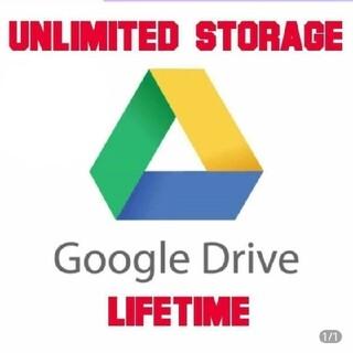 グーグル(Google)のgoogleドライブ 無制限(PC周辺機器)