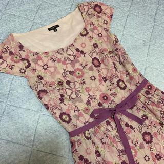 トッカ(TOCCA)のTOCCA トッカ♡総刺繍 花柄ワンピース(ひざ丈ワンピース)