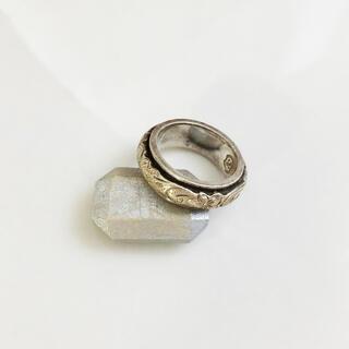 LION HEART - LION HEART * plumeria silver ring