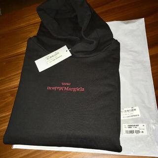 マルタンマルジェラ(Maison Martin Margiela)の46 新品正規品 Maison Margiela 21SS 刺繍ロゴ パーカー(パーカー)