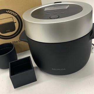 バルミューダ(BALMUDA)のバルミューダ炊飯器 K03A-BK(炊飯器)