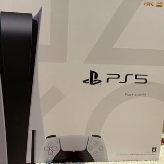 プレイステーション(PlayStation)のPS5 本体 CFI-1100A01 ディスクドライブ搭載モデル(家庭用ゲーム機本体)