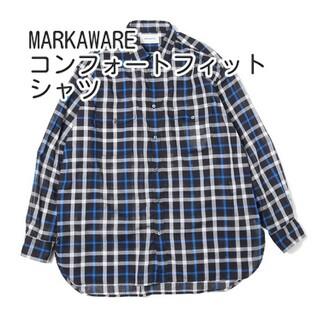 マーカウェア(MARKAWEAR)のMARKAWARE UTILITY SHIRTS COMFORT FIT シャツ(シャツ)