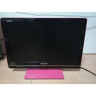 SHARP - SHARP LED AQUOS K K7 LC-19K7-P 液晶テレビ