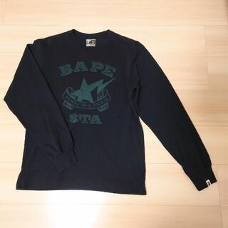 アベイシングエイプ(A BATHING APE)のA BATHING APE 長袖Tシャツ(Tシャツ/カットソー(七分/長袖))