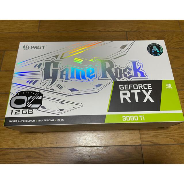 palit RTX 3080ti gamerock oc スマホ/家電/カメラのPC/タブレット(PCパーツ)の商品写真